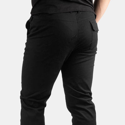 "30"" Solid Black Flex All Day Chino Pants"