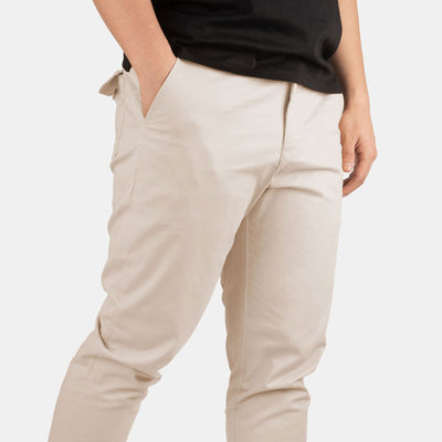 "30"" Sandy Brown Flex All Day Chino Pants"