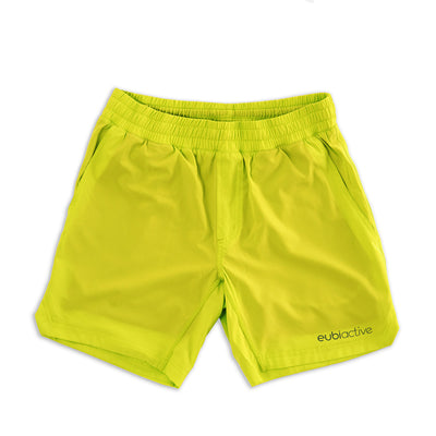 EUBI Active Ultima Shorts - Neon Yellow