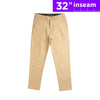 "32"" Khaki Brown Flex All Day Chino Pants"