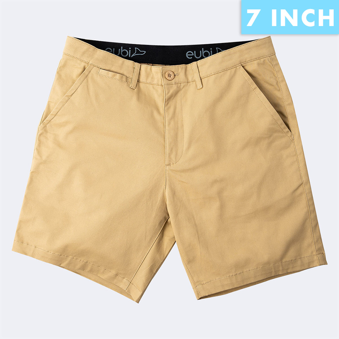 [SALE] Khaki Brown All Day Shorts 2.0 (Stretch)