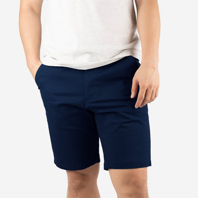 "[PRE-ORDER] 9"" Midnight Blue All Day Shorts 2.0 (Stretch)"
