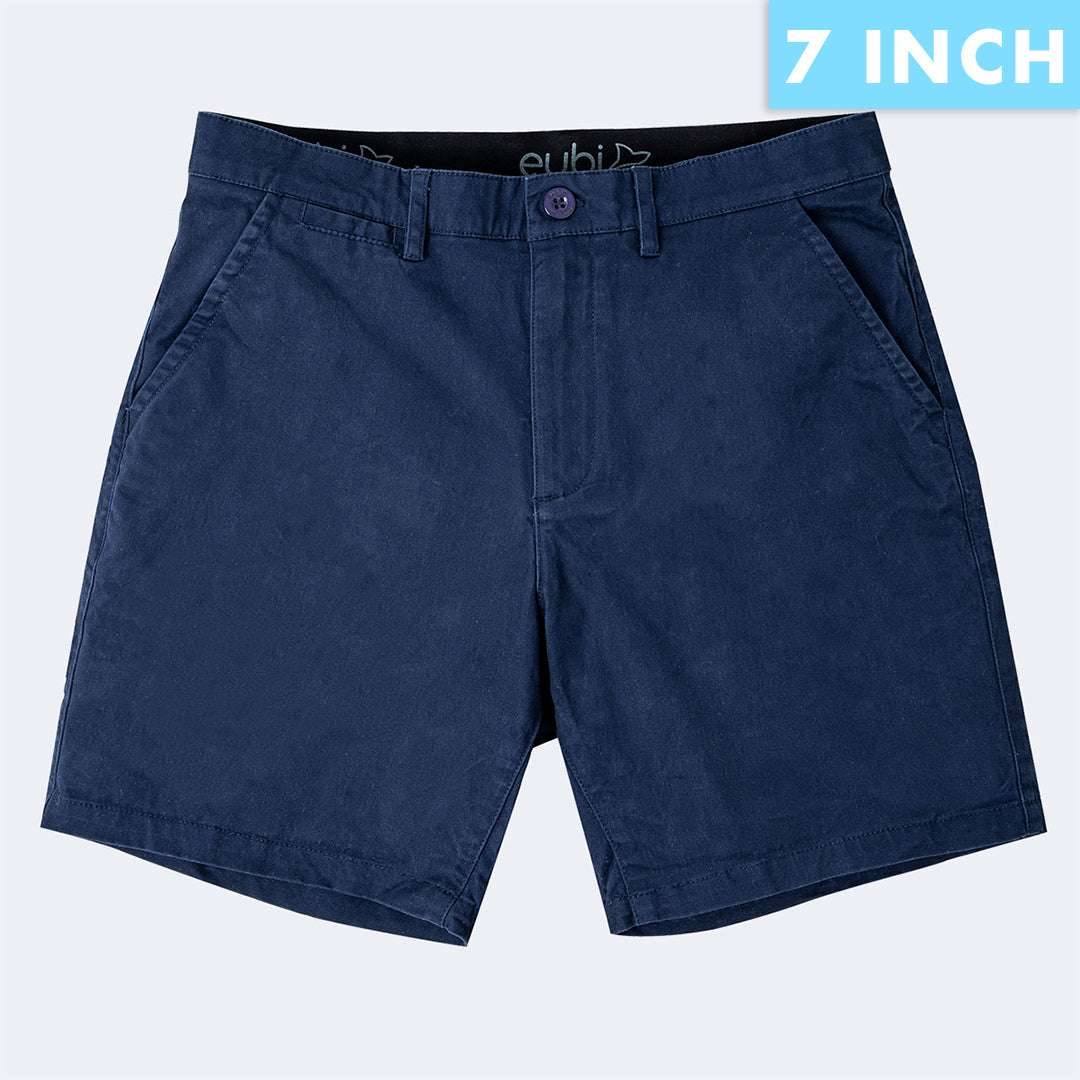 [SALE] Midnight Blue All Day Shorts 2.0 (Stretch)