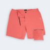 Heather Red Hybrid Shorts