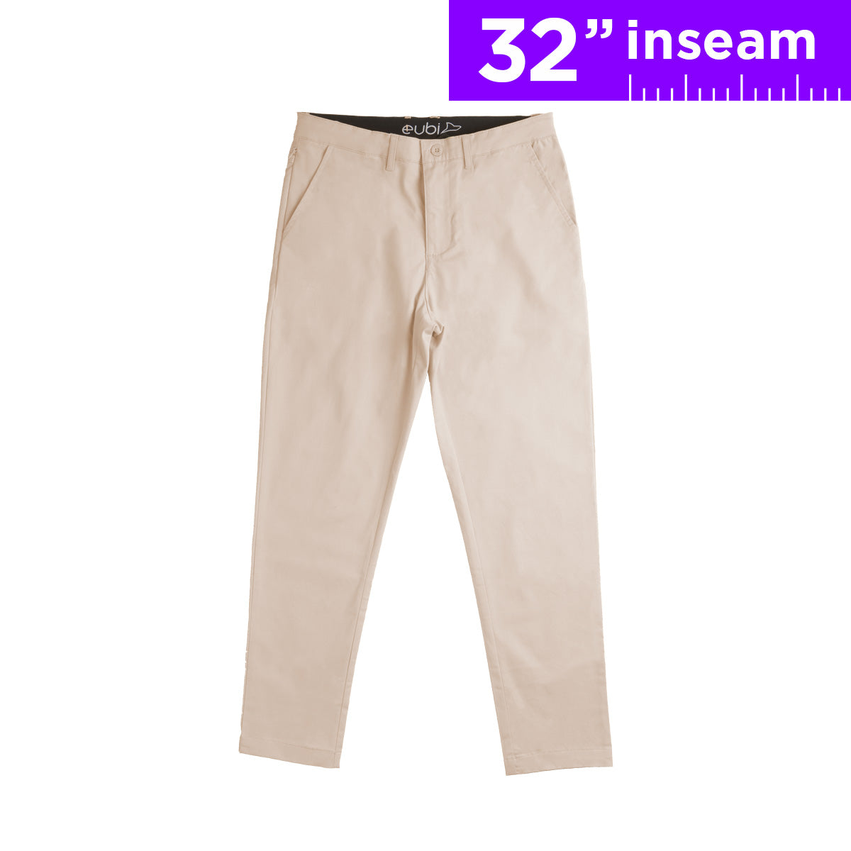 "32"" Sandy Brown Flex All Day Chino Pants"