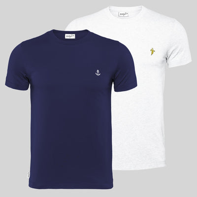 [Clearance] Anchor + Banana Signature T-Shirt Bundle