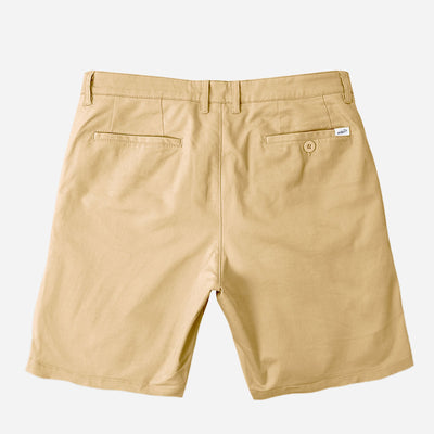 "11"" Khaki + Navy Blue All Day Chino Shorts Duo Pack"