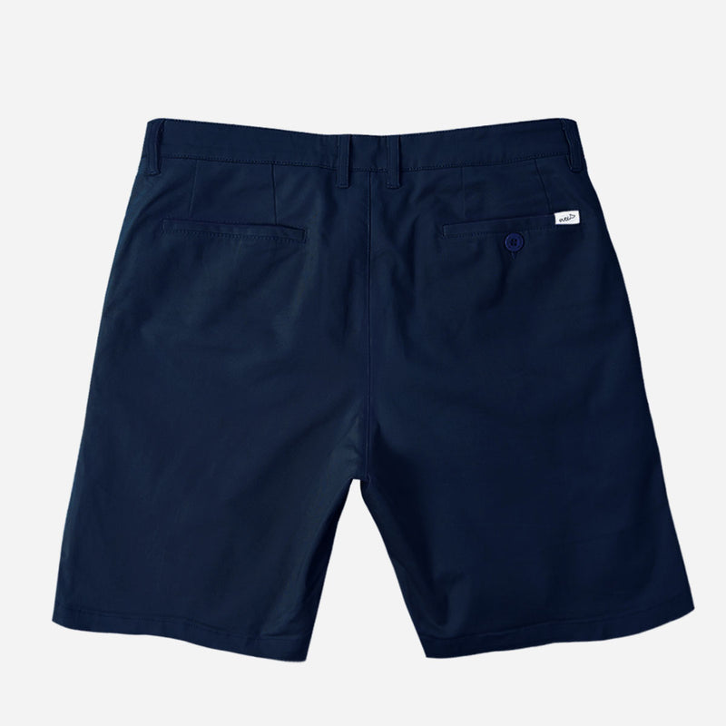 "11"" Navy Blue Chino Shorts"