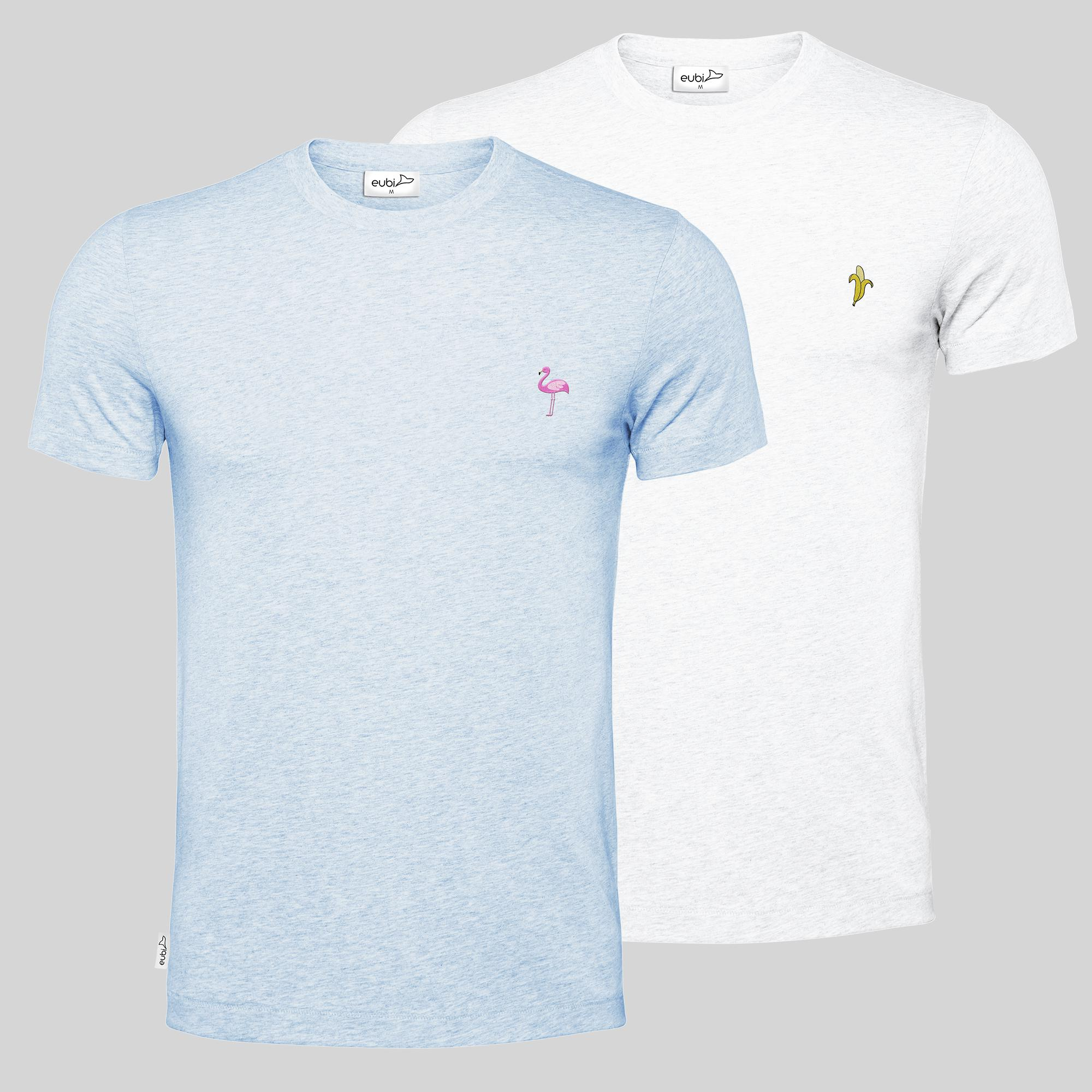 Banana + Flamingo Signature T-Shirt Bundle