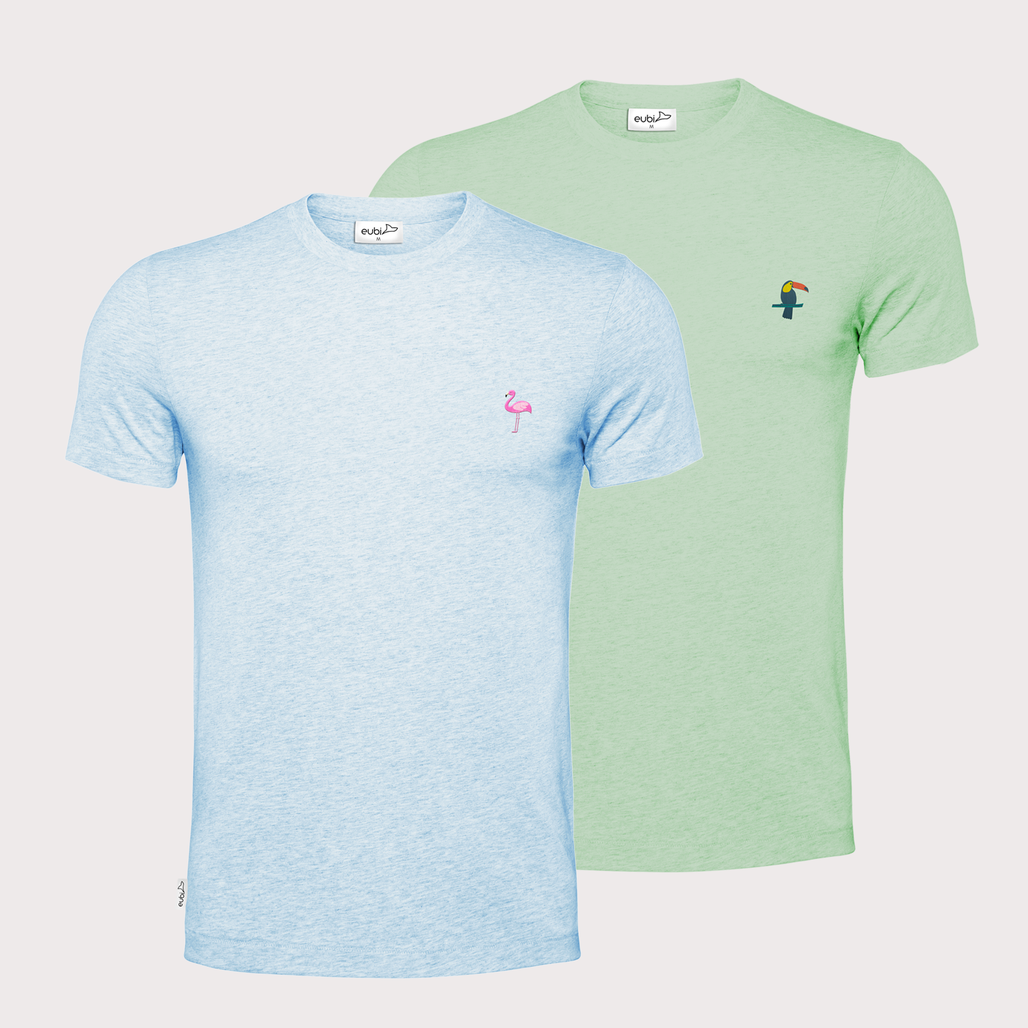 Toucan + Flamingo Signature T-Shirt Bundle