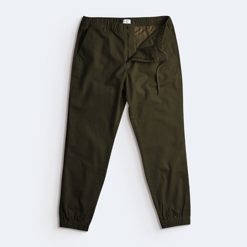 [SALE] Flex All Day Joggers - Olive Green