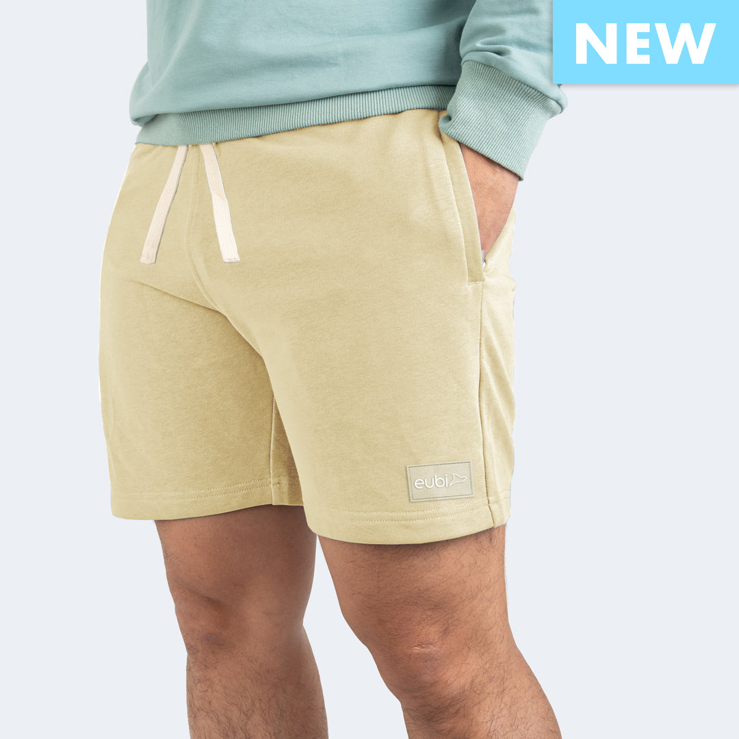 Khaki Lounge Shorts