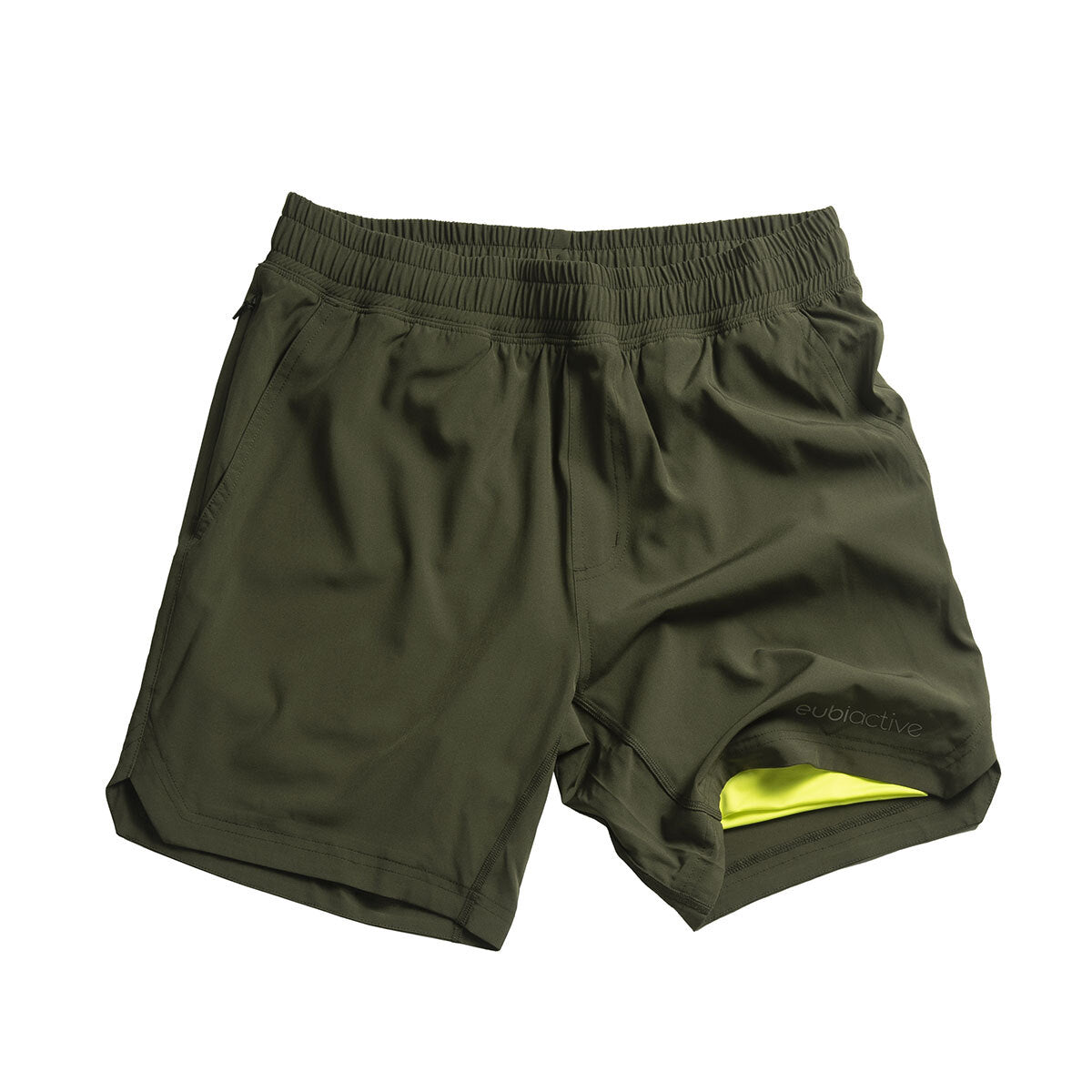 EUBI Active Ultima Shorts - Army Green