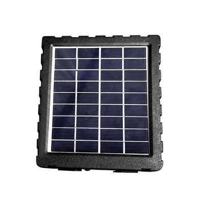 Solar Panel Charger for Outdoor Security Camera Renewable Energy Surveillance Rugged Waterproof Sun Charging Covert