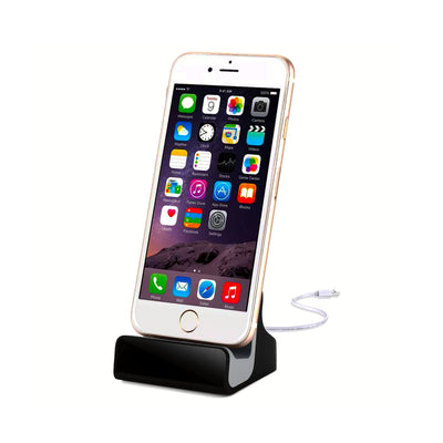iPhone Charging Dock Station with Built-In Security Camera Covert Spy Cam Hidden Docking Station Charger Undetectable Camera Lens Covert Surveillance