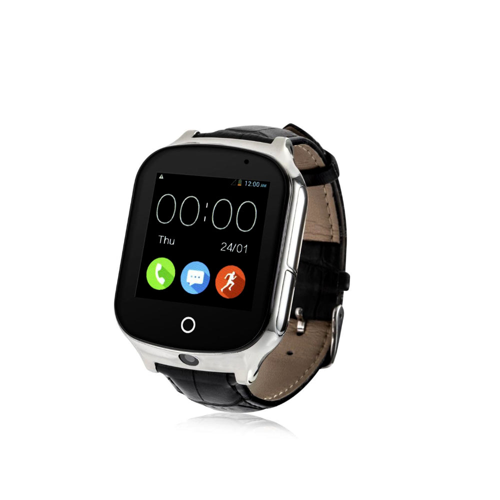 GPS Smart Watch Tracker 3G Remote Tracking Device Elders Seniors Kids Children GPS Geofencing Spy Covert Tracking Speedometer Calorie Counter