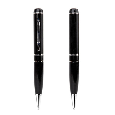 Ball-Point Pen With Built-In HD 2K Camera Note Taking Covert Spy Cam Student Class Writing Surveillance School Supplies Security