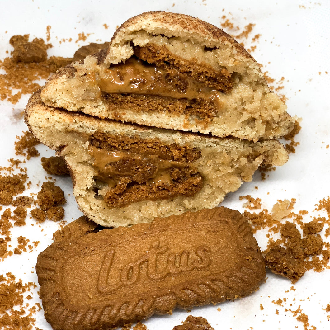 The Biscoff Snickerdoodle Cookie Butter Cookie