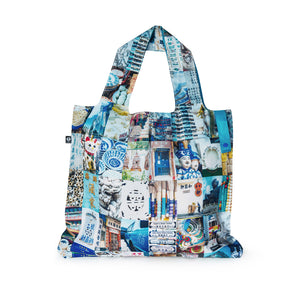 Packable & Reusable Shopping Bag - Hong Kong Blue