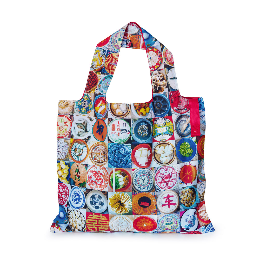 Packable & Reusable Shopping Bag - Hong Kong Circles