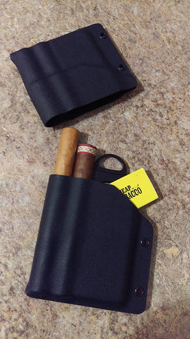 Double Wide Kydex Cigar Case