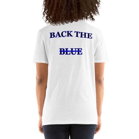 Back The Blue Women's T-Shirt
