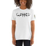 "Swine Gear Coffee ""Coffee Logo"" T-Shirt with Swine Gear Logo on Sleeve"