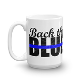 Back the blue Swine Gear Coffee Mug