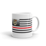 Swine Gear Thin Red Line Flag Coffee Cup