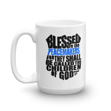 Blessed are the peacemakers Swine Gear Coffee Mug