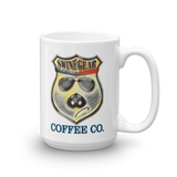 Thin Blue Line Ohio Swine Gear Coffee Mug