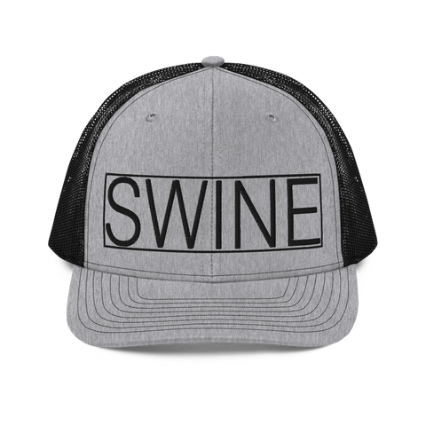 SWINE Logo Trucker Hat Snapback