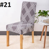Elastic Home Dining Chair Cover