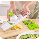 Mandoline Vegetable Slicer with Stainless Steel Blade