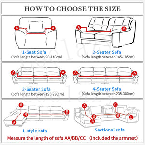 SofaSpanx - Universal Size Fit For All Sofa