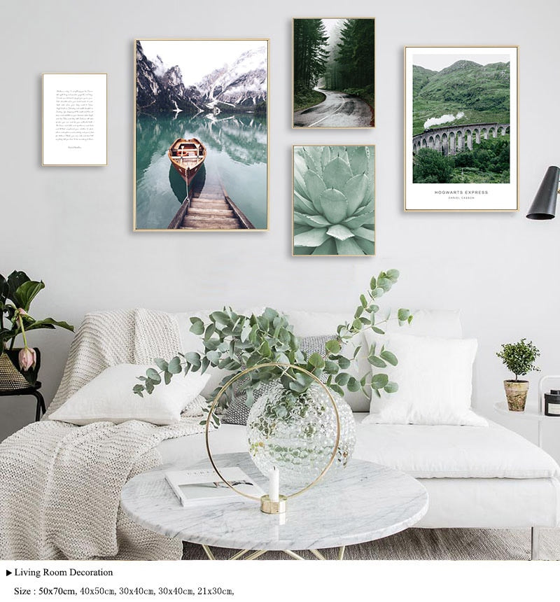 Lake Canvas Nature Wall Art
