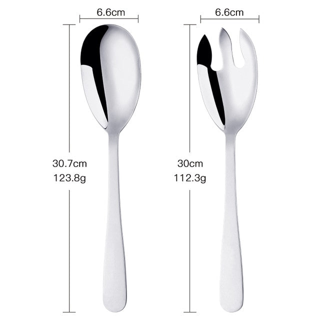 Serving Spoon And Fork Set