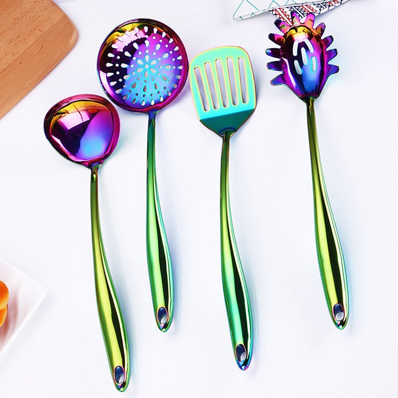 Colorful Cooking Tool Set