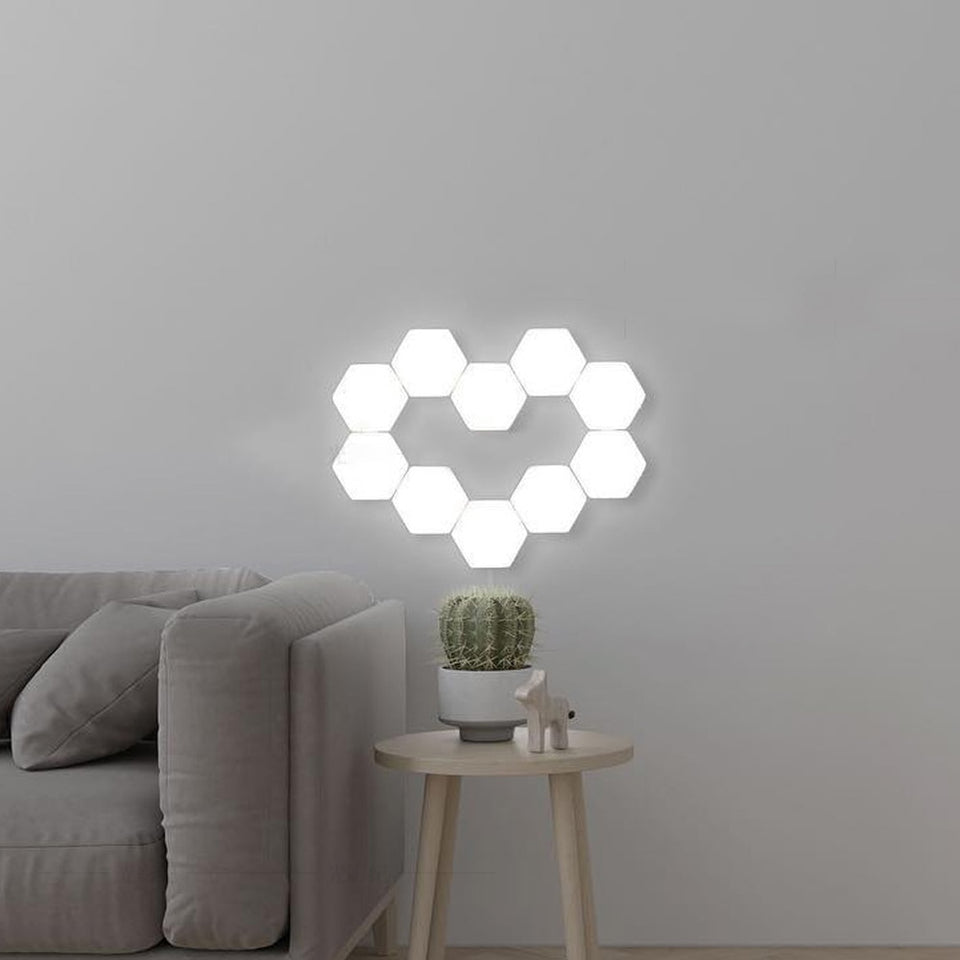 Magnetic LED Quantum Lamp