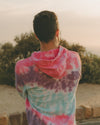 Tie Dye 'Be Yourself' Hoodie (Re-stocked)