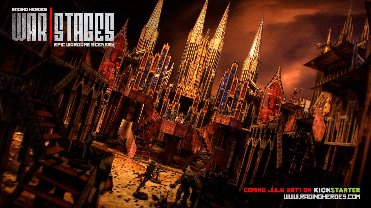 All about WarStages: The Gothic Cathedral