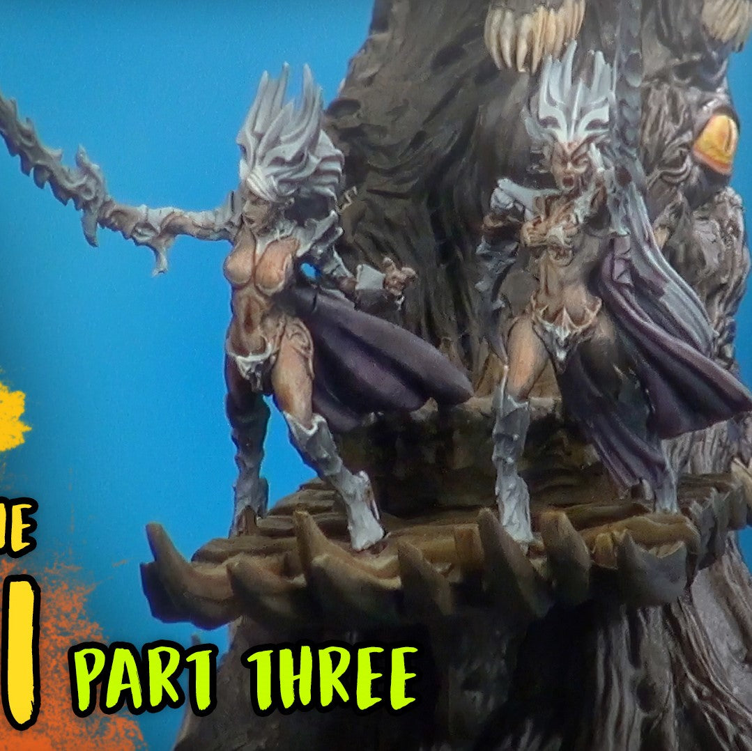 3 - Painting the Altar of the Succubi - OnTableTop / Beasts of War Hobby Vlog