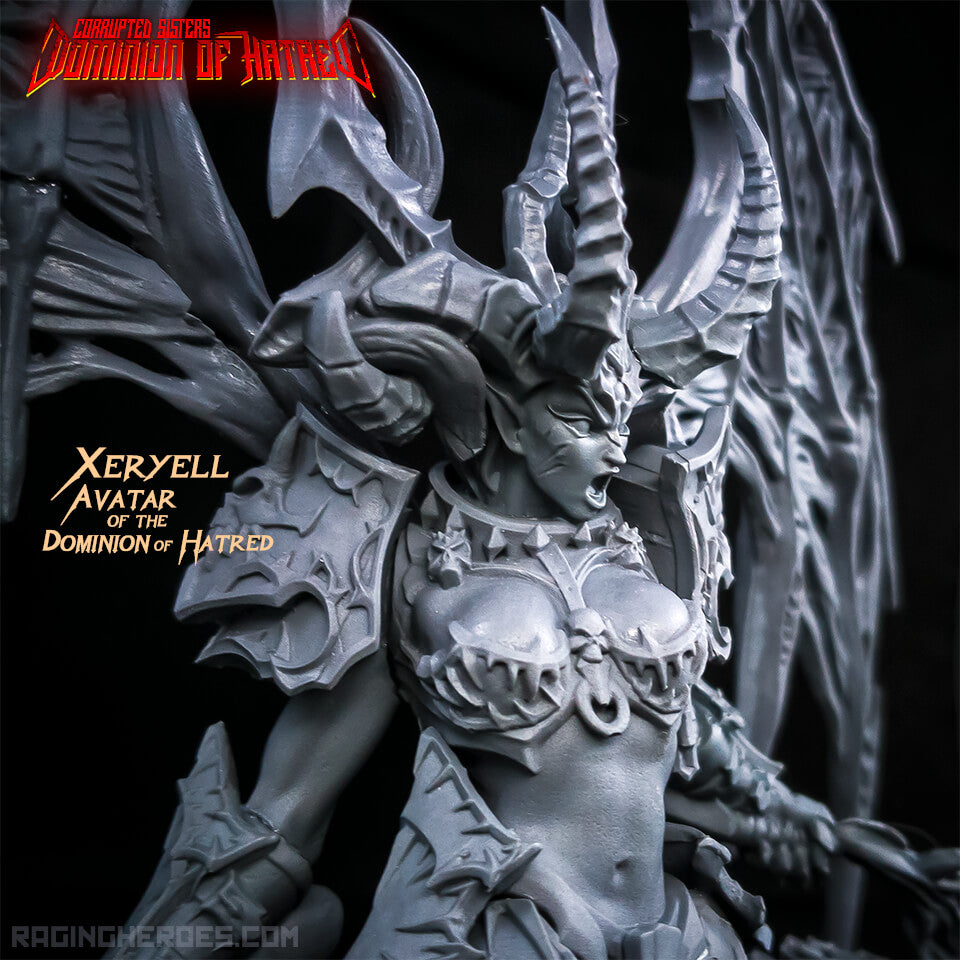 New CORRUPTED SISTERS Army + New Goddess: Xeryell - Avatar of the Dominion of Hatred