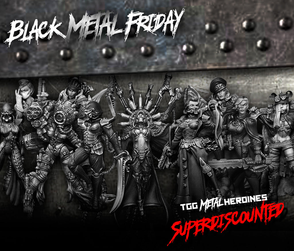 Black Metal Friday: SAVE up to 42% on these packs entirely made of metal miniatures!