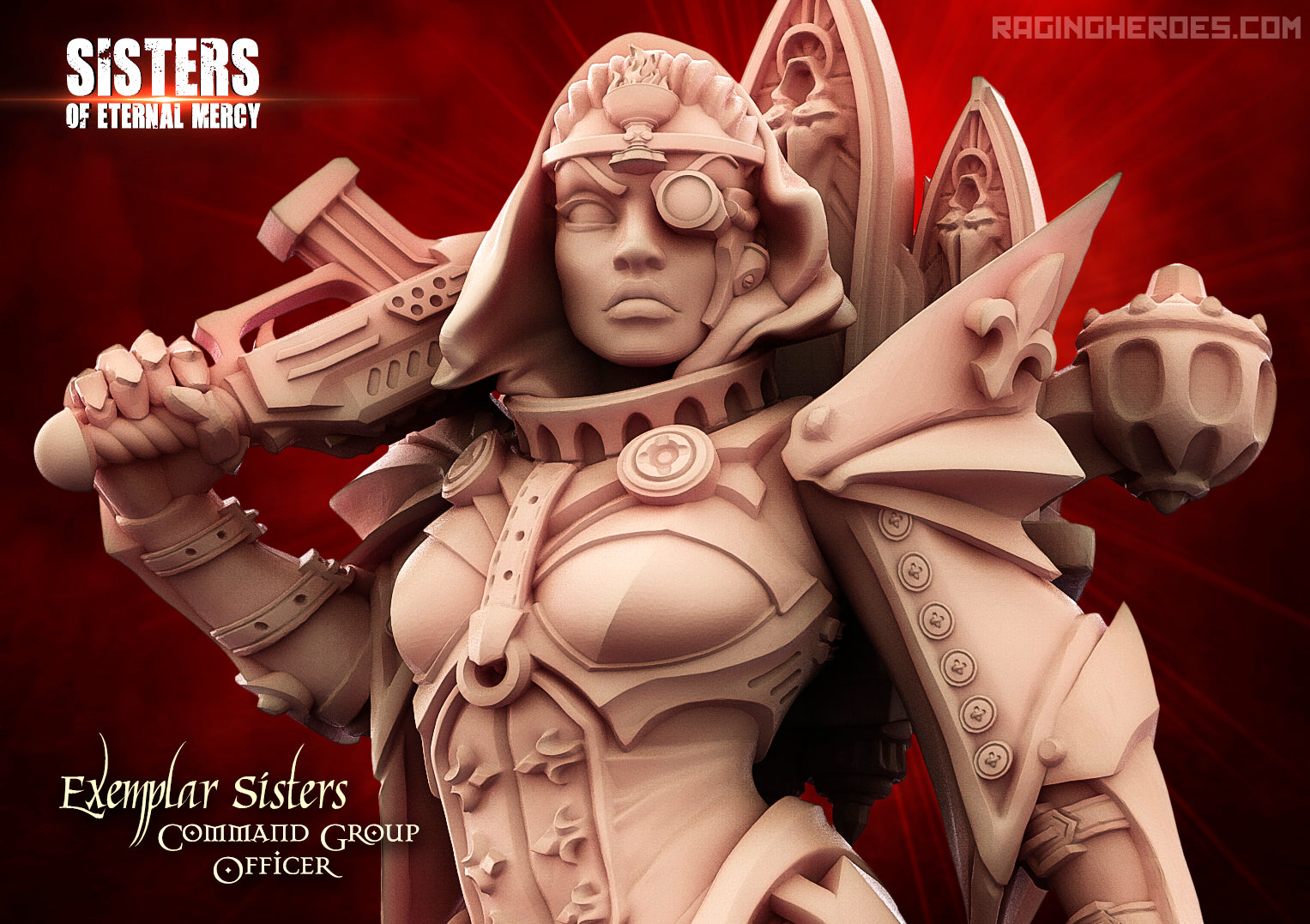 Details of the new version of the Exemplar Sisters Troopers