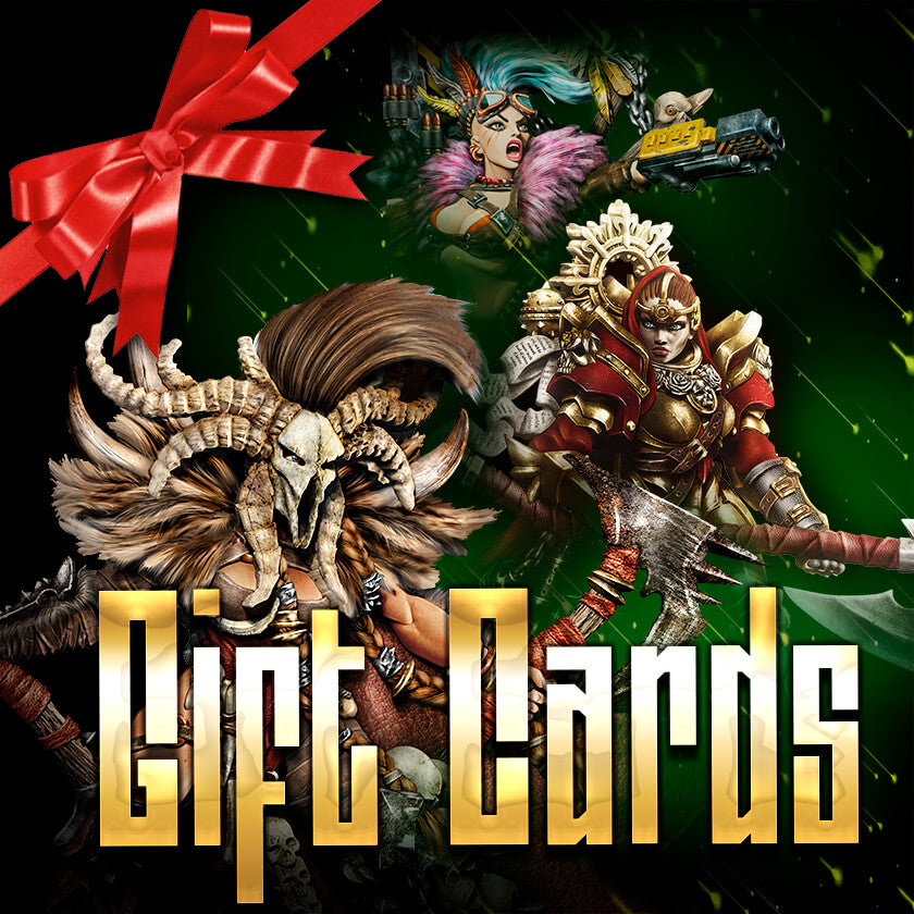 The perfect hobby gift? 🎁 Raging Heroes Gift Cards now available!