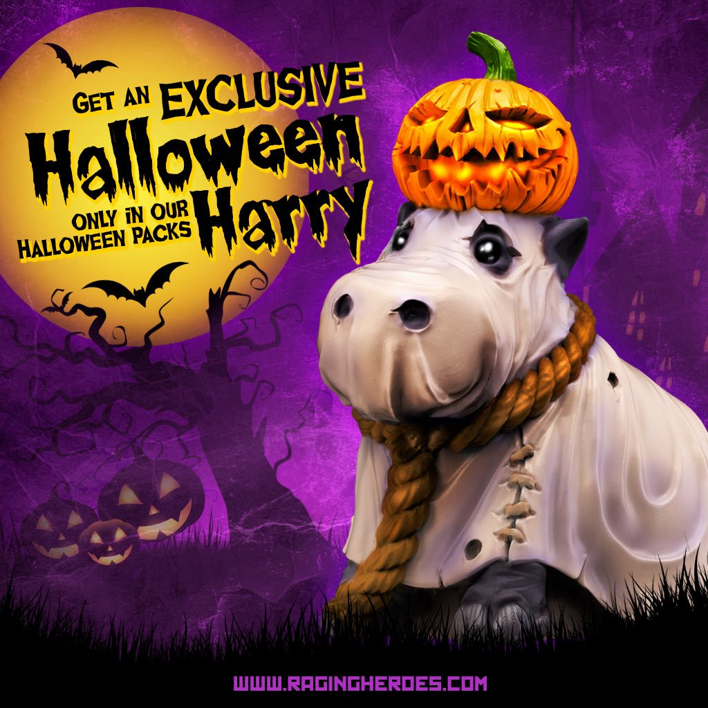 halloween special packs + exclusive limited edition miniature