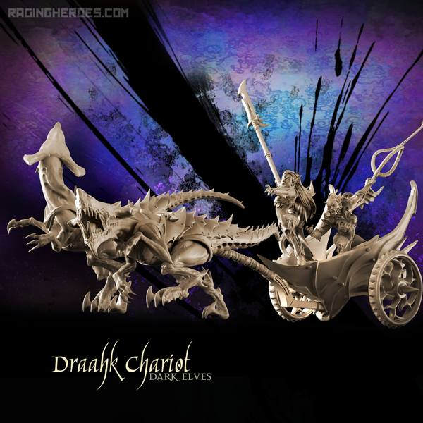 Draahk Chariot finally available + Army Packs!