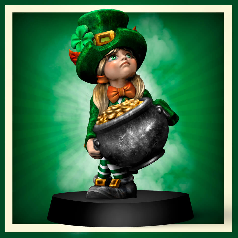 Celebrate St Patrick's Day On The Tabletop!