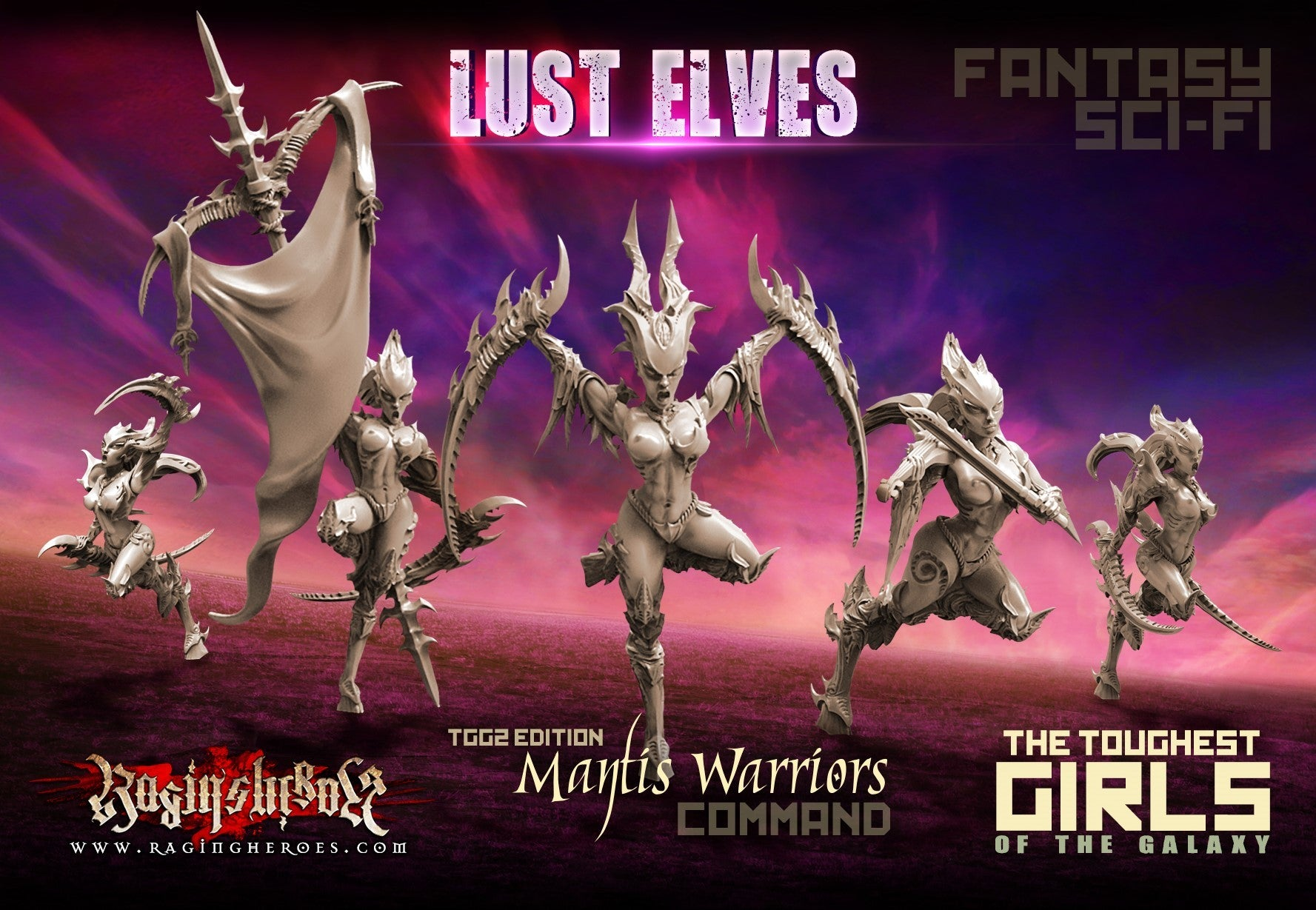 Unboxing video: Mantis Warriors CG
